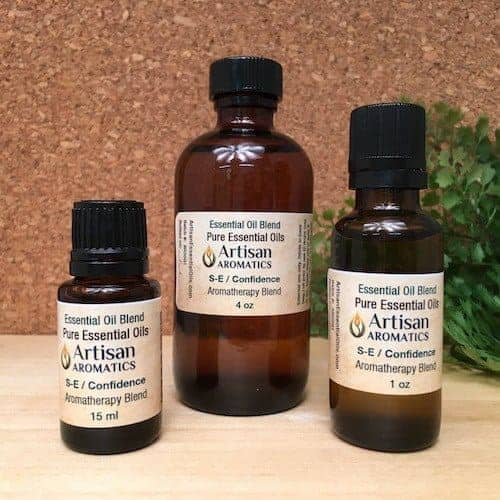 Self-Esteem / Confidence Aromatherapy Blend / Self-Esteem / Confidence Essential Oil Blend - Artisan Aromatics