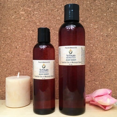 Body Bliss Massage Oil Blend - Artisan Aromatics