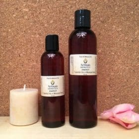 Energy Massage Oil Blend - Artisan Aromatics