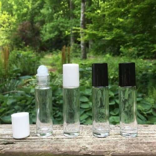 Glass Bottles with Roller Ball Tops - Artisan Aromatics