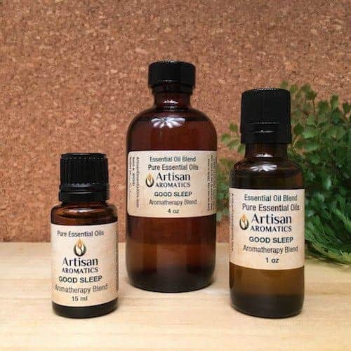 Good Sleep Aromatherapy Blend / Good Sleep Essential Oil Blend - Artisan Aromatics