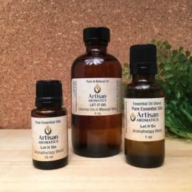 Let It Go Aromatherapy Blend / Let It Go Essential Oil Blend - Artisan Aromatics