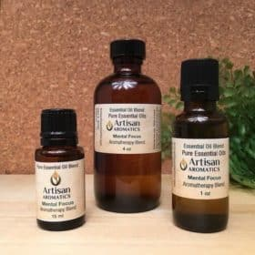 Mental Focus Essential Oil Blend - Artisan Aromatics