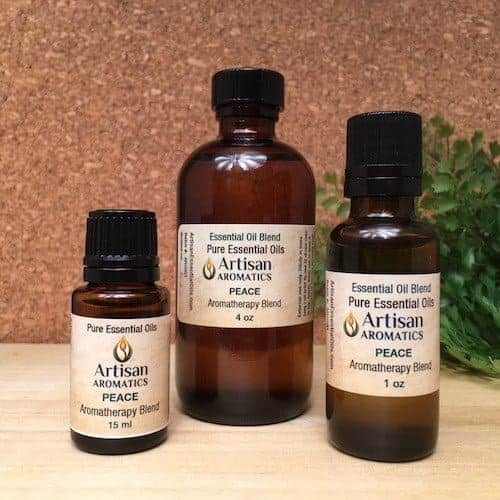 Peace Aromatherapy Blend / Peace Essential Oil Blend - Artisan Aromatics
