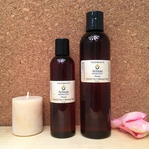 Peace Massage Oil Blend - Artisan Aromatics