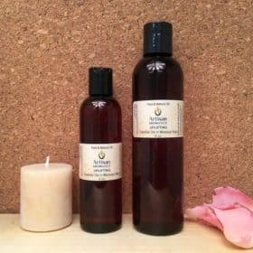 Uplifting Massage Oil Blend - Artisan Aromatics